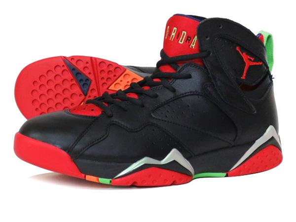 521c800c57df NIKE AIR JORDAN 7 RETRO Nike Air Jordan 7 retro BLACK UNIVERSITY RED GREEN  GREY