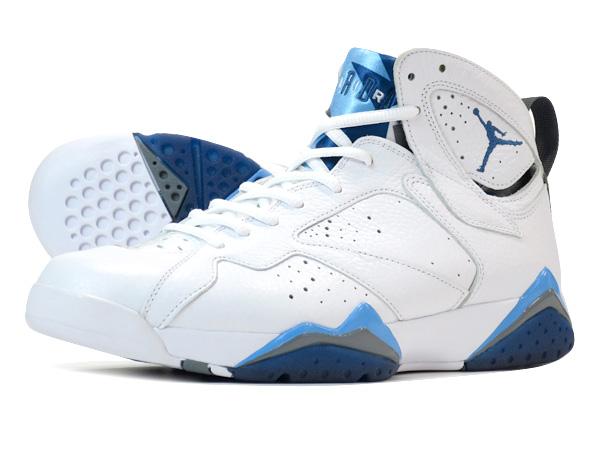 new concept bab9e ca04c NIKE AIR JORDAN 7 RETRO WHITE/FRENCH BLUE/UNIVERSITY BLUE/GREY 【FRENCH BLUE】
