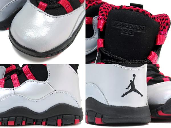 official photos 35f7d 70650 NIKE AIR JORDAN 10 RETRO TD Nike Air Jordan 4 nostalgic TD WOLF GREY BLACK LEGION  RED