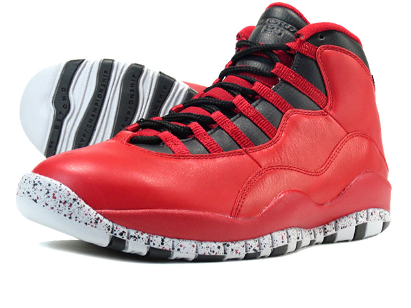 new concept 93439 a6fdd NIKE AIR JORDAN 10 RETRO 30TH GYM RED BLACK WOLF GREY  BULLS OVER BROADWAY