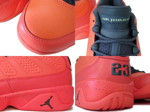 save off 040c3 75411 NIKE AIR JORDAN 9 RETRO LOW Nike Air Jordan 9 retro low BRIGHT MANGO HASTA GHOST  GREEN