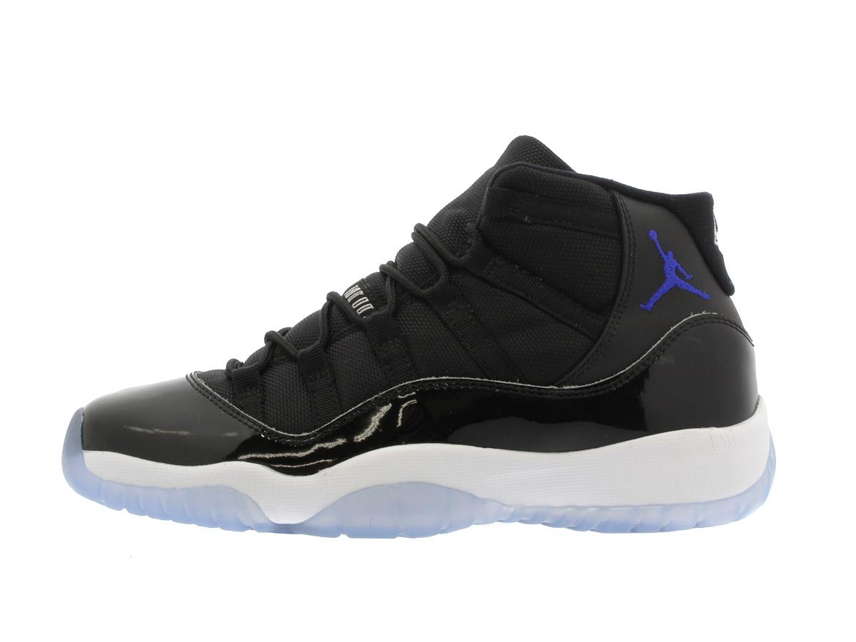 wholesale dealer 640f3 42596 NIKE AIR JORDAN 11 RETRO BG Nike Air Jordan 11 nostalgic BLACK/DARK  CONCORD/WHITE 378,038-003