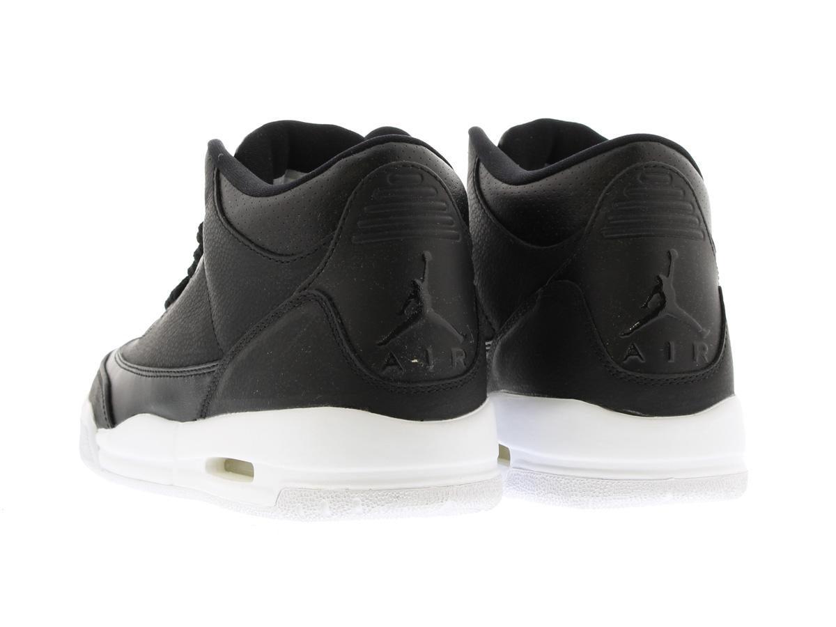 free shipping efacd fe652 NIKE AIR JORDAN 3 RETRO BG Nike Air Jordan 3 retro BG BLACK/BLACK/WHITE