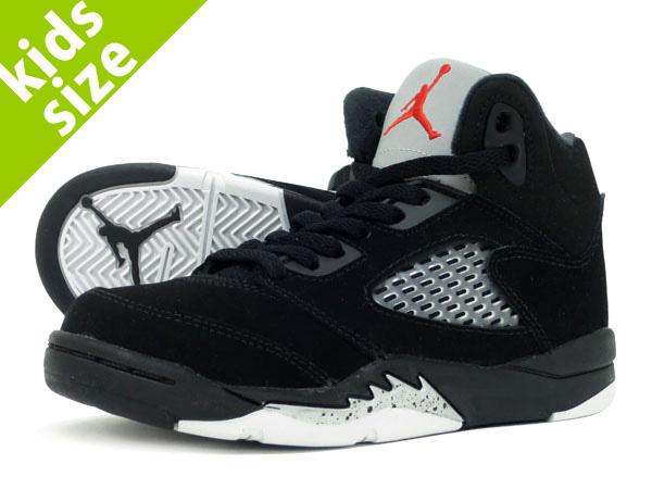 huge discount 46787 a25b7 NIKE AIR JORDAN 5 RETRO OG BP Nike Air Jordan 5 nostalgic OG BP BLACK FIRE  RED METALLIC SILVER 440,889-003
