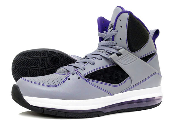 online store c114b e4830 ... black purple yellow prize neon nike. jordan flight 45 hi max shoes