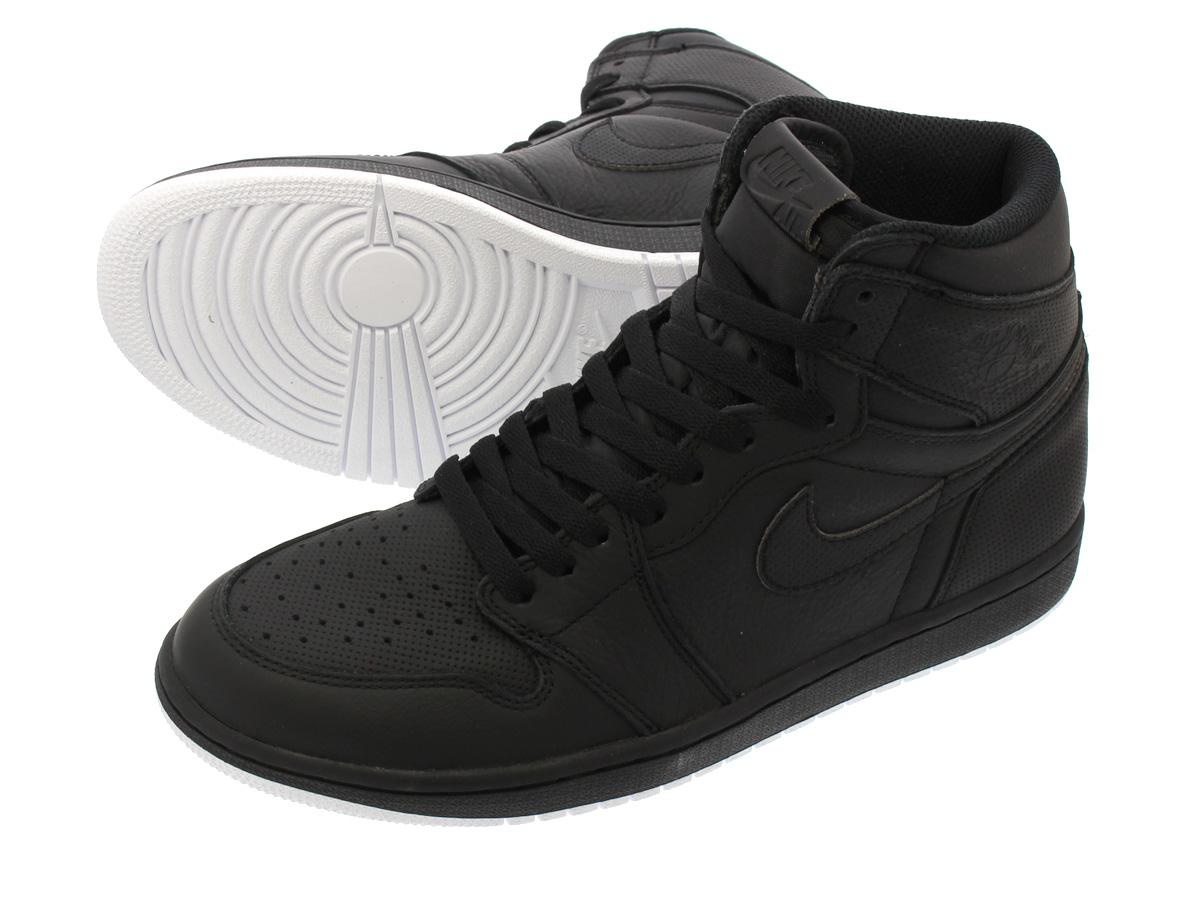 NIKE AIR JORDAN 1 RETRO HIGH OG Nike Air Jordan 1 nostalgic high OG  BLACK/WHITE