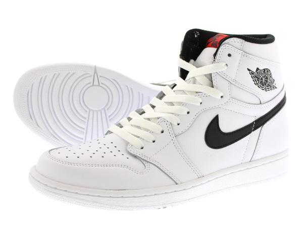 nike air jordan 1 retro high og black white