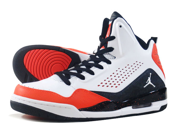 NIKE AIR JORDAN SC-3 Nike Air Jordan SC-3 WHITE/BLACK/ORANGE