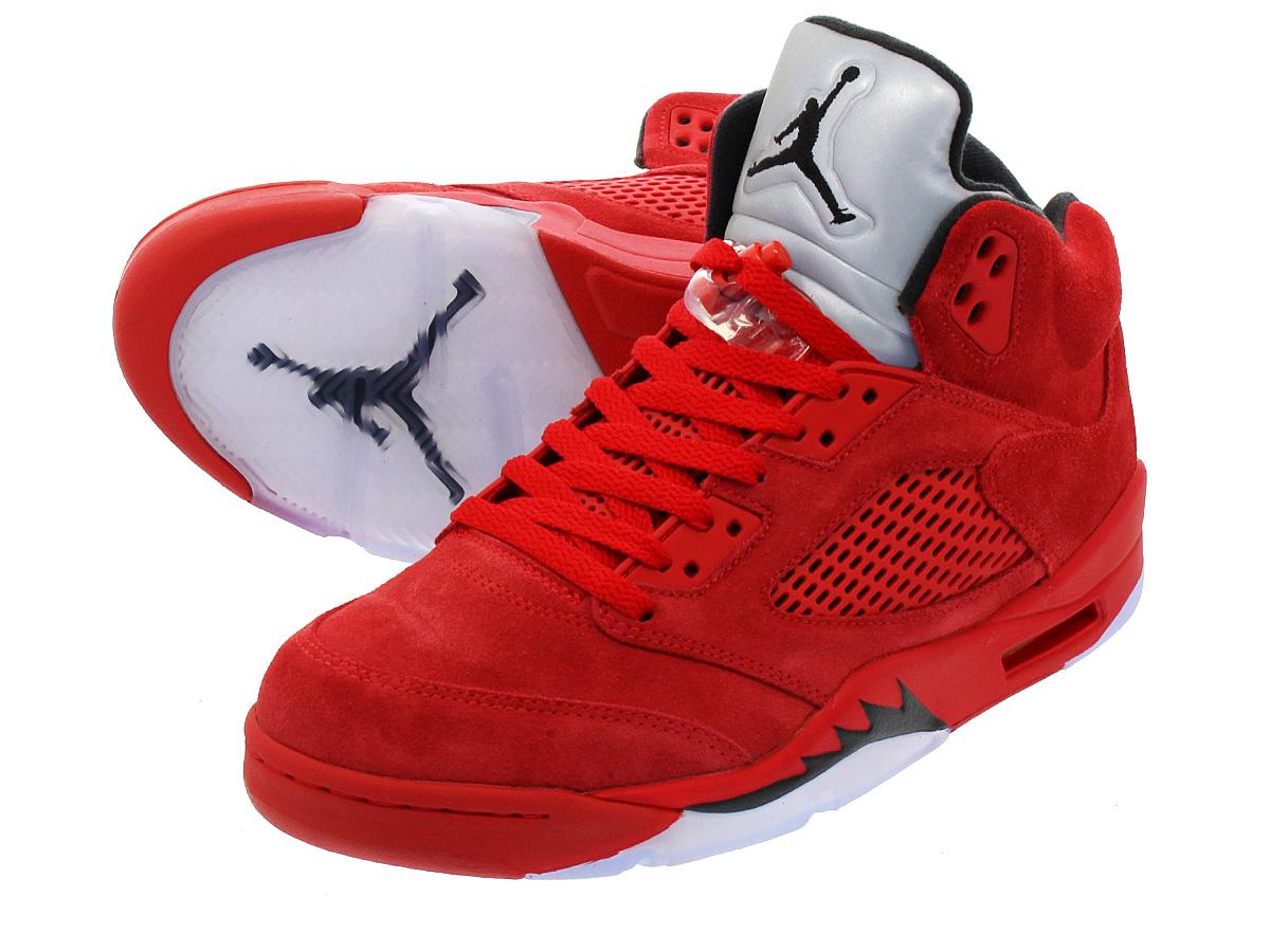 NIKE AIR JORDAN 5 RETRO 【RED SUEDE】 ナイキ エア ジョーダン 5 レトロ UNIVERSITY RED/BLACK/UNIVERSITY RED 136027-602