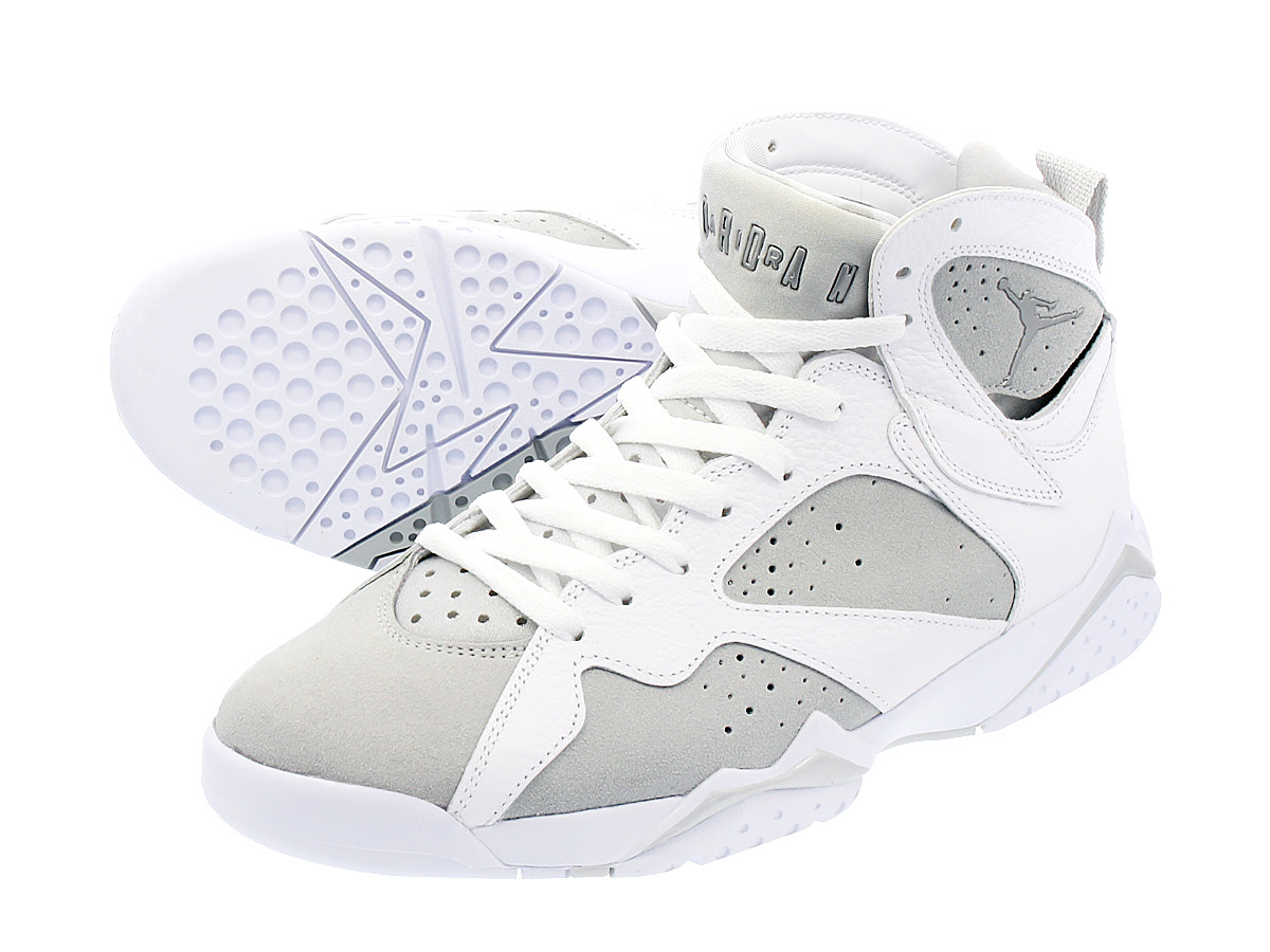 NIKE AIR JORDAN 7 RETRO 【PURE MONEY】 ナイキ エア ジョーダン 7 レトロ WHITE/METALLIC SILVER/PURE PLATINUM 304775-120