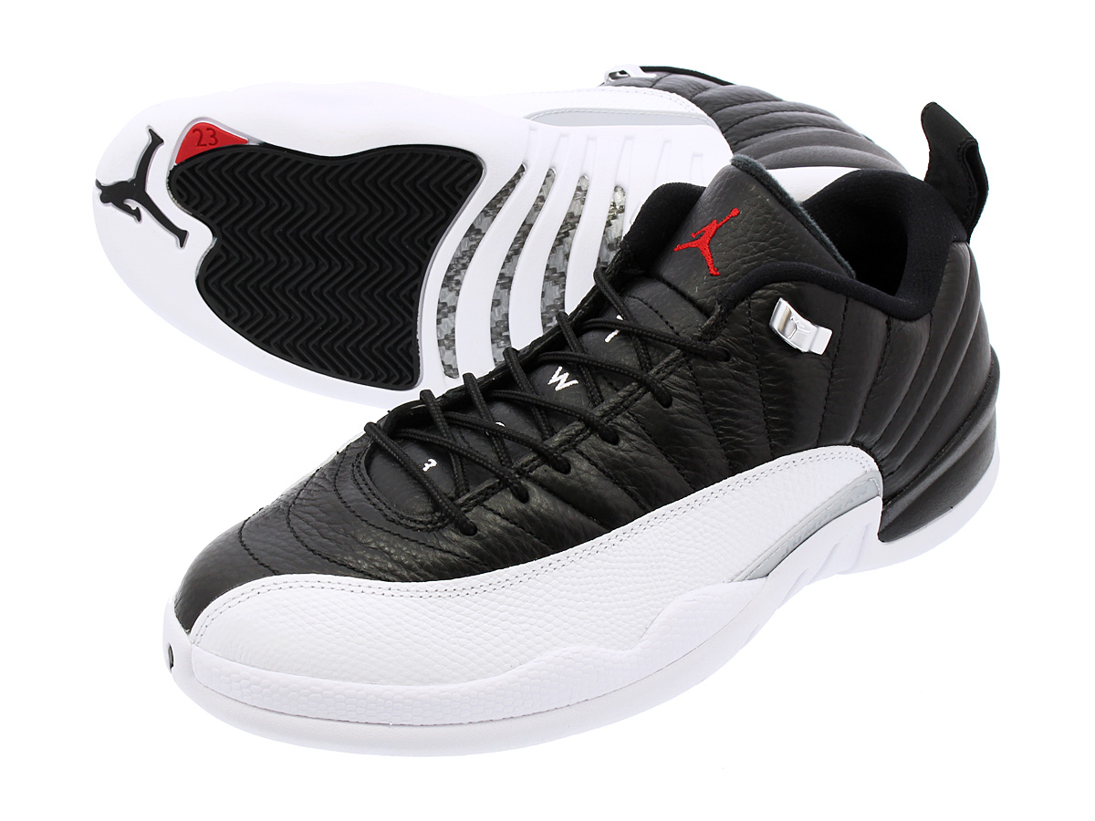 reputable site 9ce2c 97dc4 NIKE AIR JORDAN 12 RETRO LOW Nike Air Jordan 12 Lorre fatty tuna BLACK/ VARSITY ...