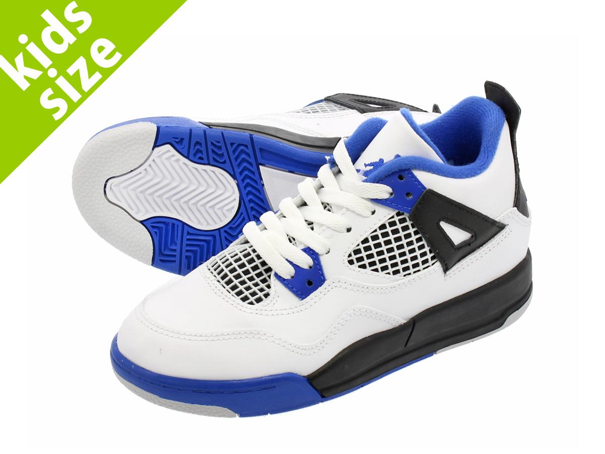 b5040ca3c98c29 NIKE AIR JORDAN 4 RETRO BP Nike Air Jordan 4 nostalgic BP WHITE GAME ROYAL  BLACK 308
