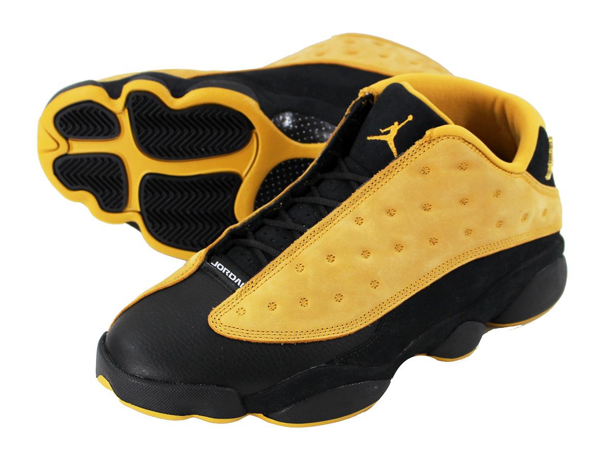 a0d46e3c8de6 NIKE AIR JORDAN 13 RETRO LOW Nike Air Jordan 13 nostalgic low BLACK CHUTNEY