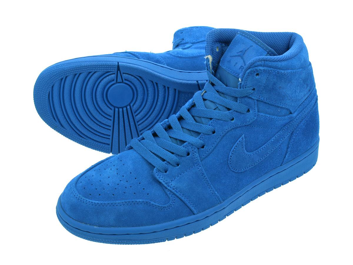 78f49274460 LOWTEX PLUS  NIKE AIR JORDAN 1 RETRO HIGH Nike Air Jordan 1 nostalgic high  TEAM ROYAL TEAM ROYAL