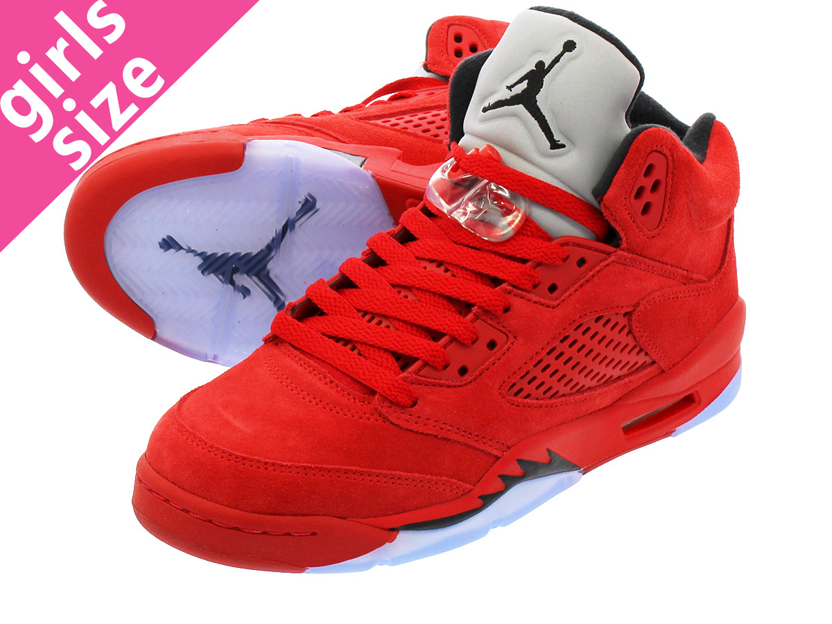 new arrival d2811 ba312 LOWTEX PLUS  NIKE AIR JORDAN 5 RETRO BG Nike Air Jordan 5 nostalgic BG  UNIVERSITY RED BLACK UNIVERSITY RED 440,888-602   Rakuten Global Market