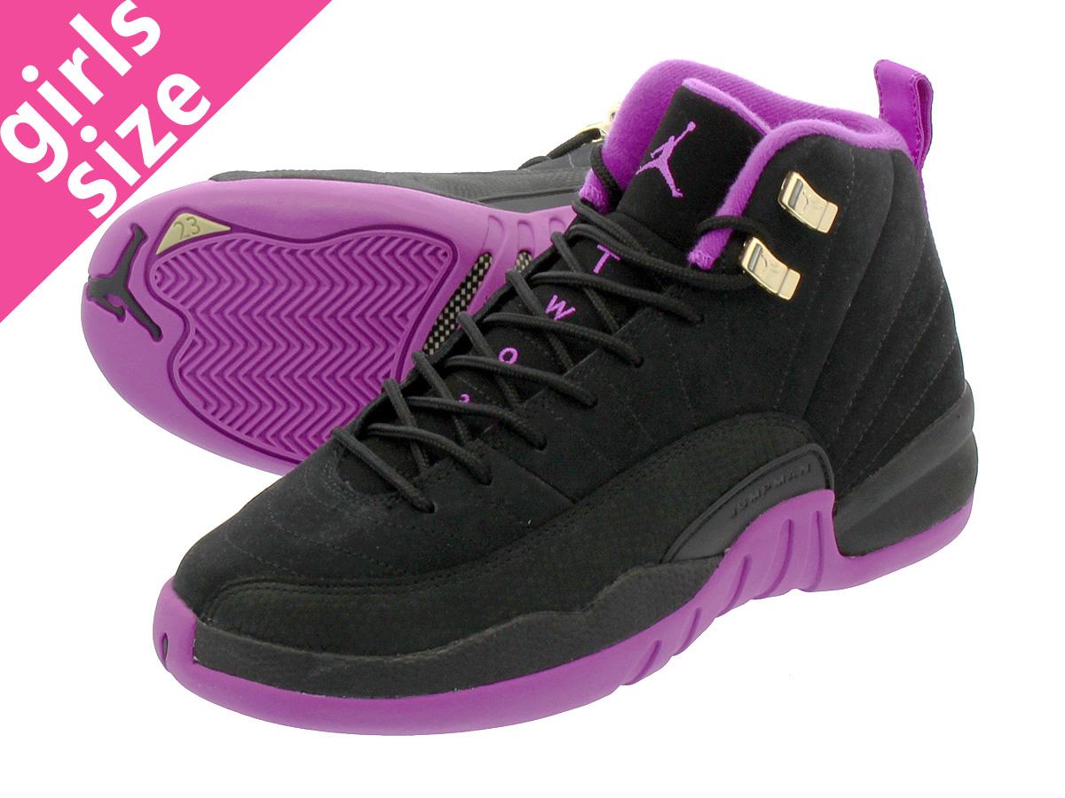 low priced 99da4 3031e NIKE AIR JORDAN 12 RETRO GG Nike Air Jordan 12 nostalgic GG BLUE  CAP METALLIC SILVER DARK PURPLE DUST