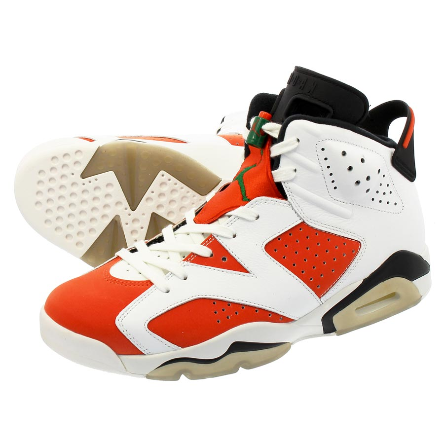 b59f4c2e406 NIKE AIR JORDAN 6 RETRO Nike Air Jordan 6 nostalgic SUMMIT WHITE/TEAM  ORANGE/BLACK