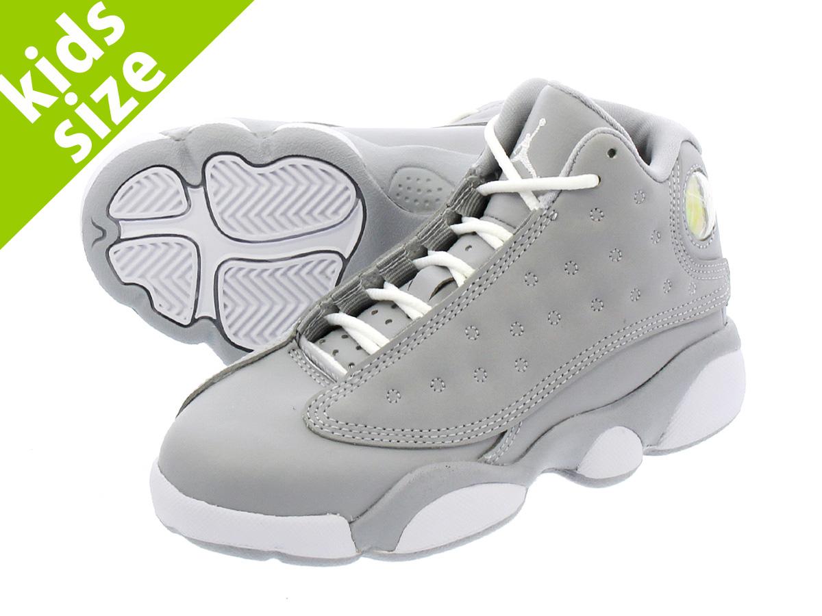 newest 8a681 ff29f NIKE AIR JORDAN 13 RETRO GP Nike Air Jordan 13 nostalgic GP WOLF GREY DEADLY  PINK WHITE WHITE