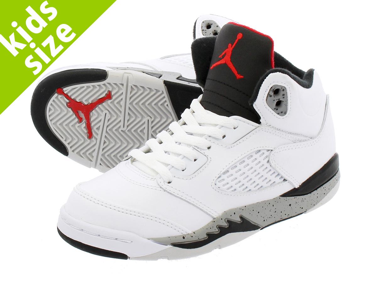 detailed look 6f371 8ff41 NIKE AIR JORDAN 5 RETRO BP Nike Air Jordan 5 nostalgic BP WHITE/UNIVERSITY  RED/BLACK/METALLIC SILVER
