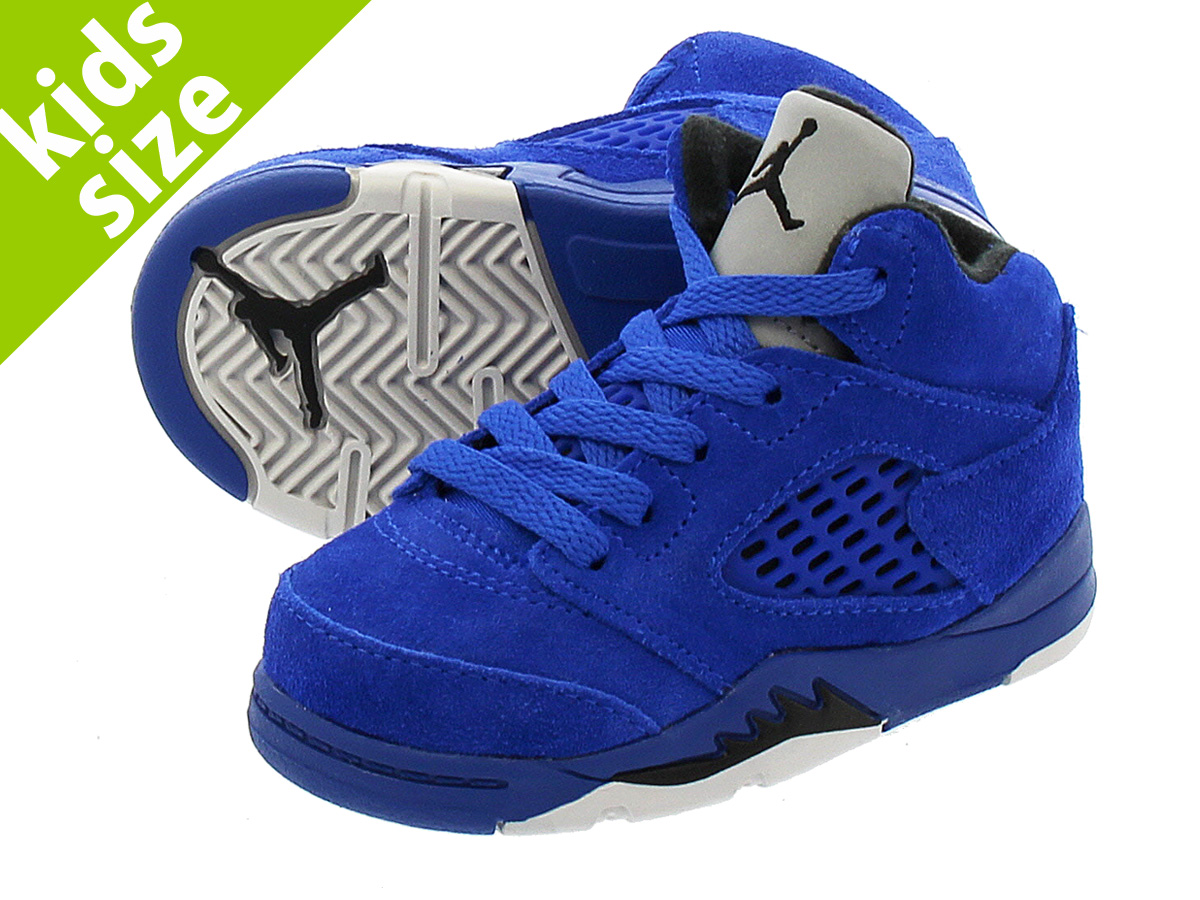 4ed4a00c878a NIKE AIR JORDAN 5 RETRO BT Nike Air Jordan 5 nostalgic BT GAME  ROYAL BLACK GAME ROYAL