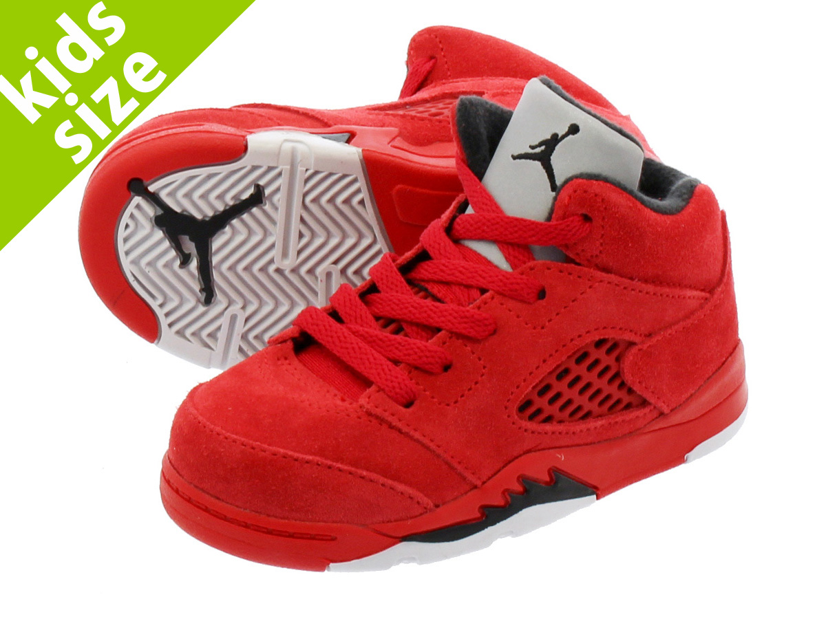 0ac1ec7fd54d NIKE AIR JORDAN 5 RETRO BT Nike Air Jordan 5 nostalgic BT UNIVERSITY  RED BLACK UNIVERSITY RED 440