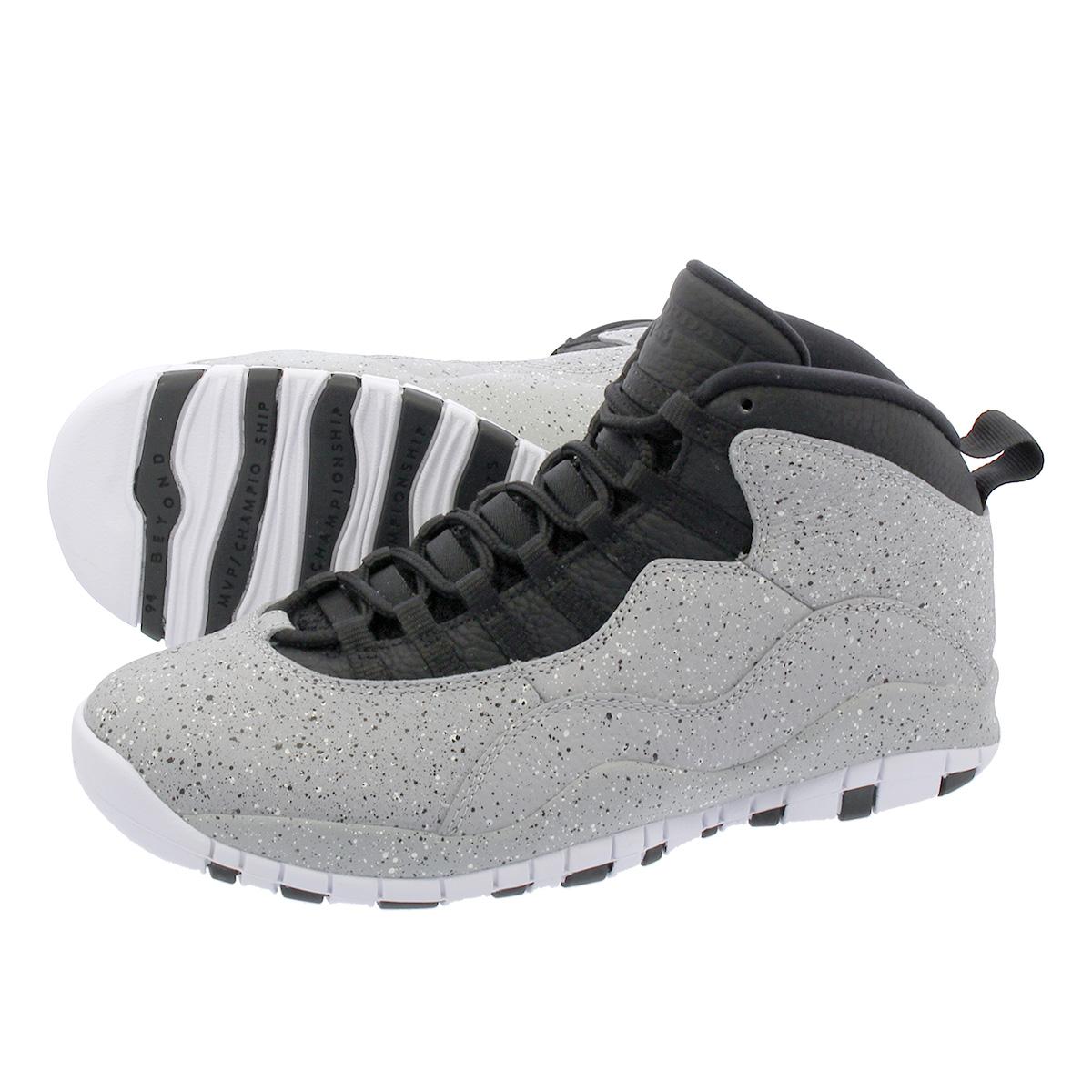 5c30373a343 LOWTEX PLUS: NIKE AIR JORDAN 10 RETRO Nike Air Jordan 10 nostalgic COOL  GREY/COOL GREY/WHITE 310,805-062   Rakuten Global Market