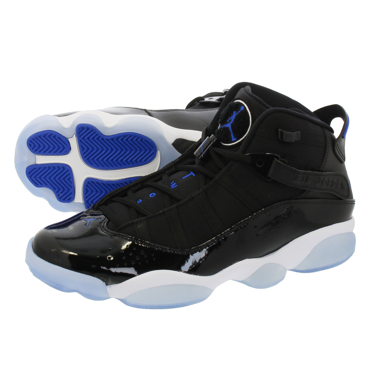 2309cf1bc919 JORDAN 6 RINGS  SPACE JAM  ナイキ ジョーダン 6 リングス BLACK HYPER ROYAL WHITE  322992-016 NIKE-スニーカー