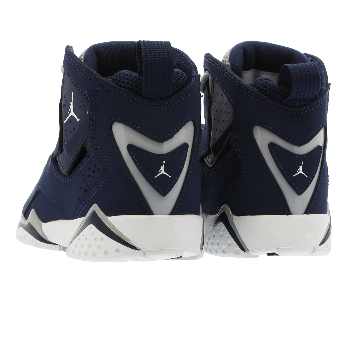 pretty nice ff46d 3203e NIKE JORDAN TRUE FLIGHT BP Nike Jordan toe roof light BP MIDNIGHT NAVY/WHITE