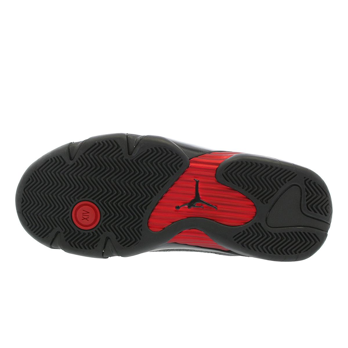 best sneakers 718f9 be6bd NIKE AIR JORDAN 14 RETRO Nike Air Jordan 14 nostalgic BLACK VARSITY RED  487,471-003
