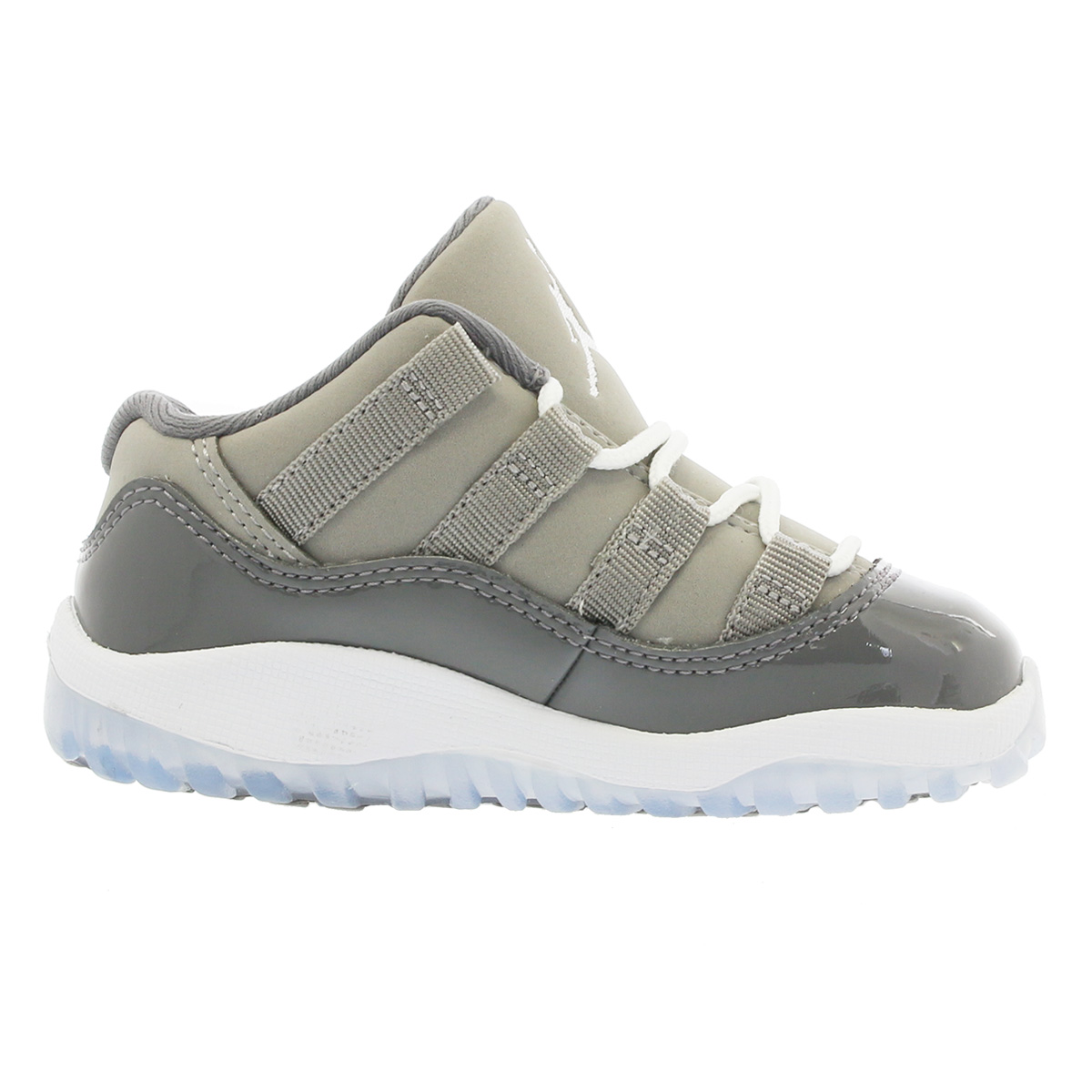 63e672bc244d NIKE AIR JORDAN 11 RETRO LOW BT Nike Air Jordan 11 nostalgic low BT MEDIUM  GREY GUMSMOKE WHITE 505