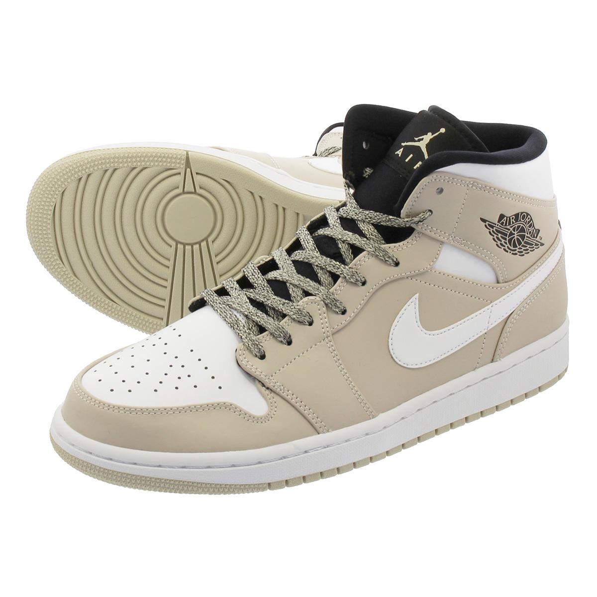 d44e545e08f18e LOWTEX PLUS  NIKE AIR JORDAN 1 MID Nike Air Jordan 1 mid DESERT SAND ...
