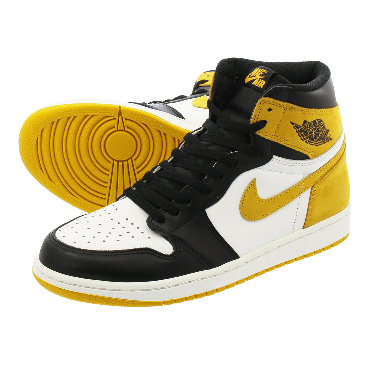 426af290e14bdd LOWTEX PLUS  NIKE AIR JORDAN 1 RETRO HIGH OG Nike Air Jordan 1 nostalgic high  OG YELLOW OCHRE