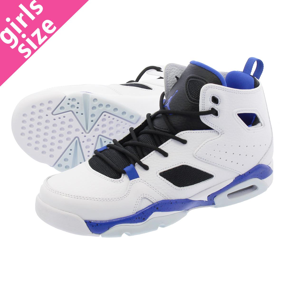 6c29471c383ff9 NIKE JORDAN FLIGHT CLUB 91 BG Nike Jordan flight club 91 BG WHITE HYPER  ROYAL BLACK 555