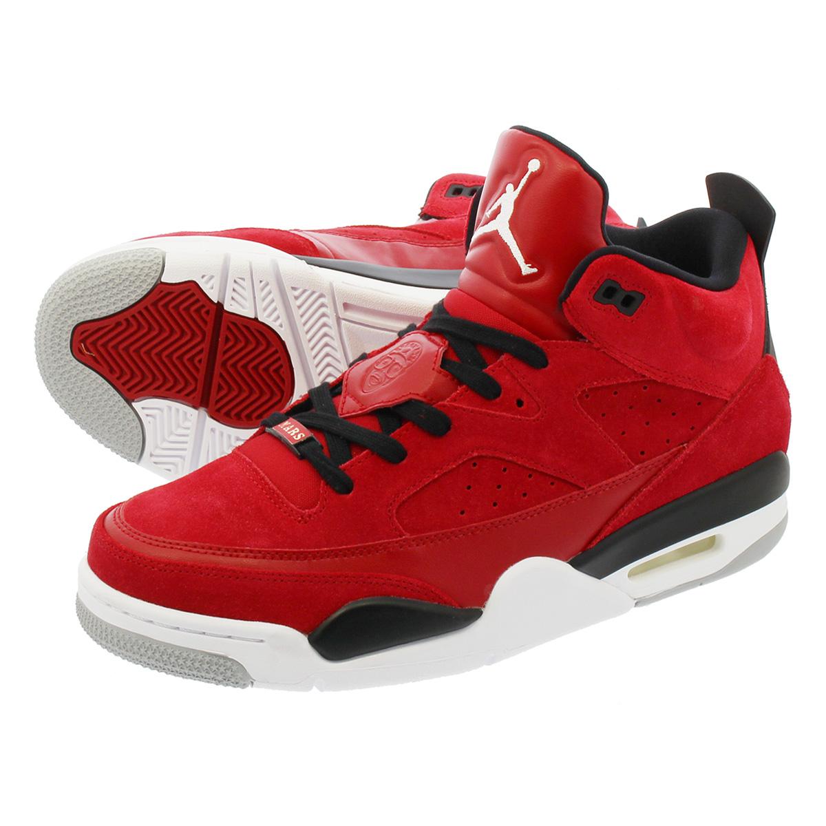 36e8ab5b73a2 LOWTEX PLUS  NIKE JORDAN SON OF LOW Nike Jordan sun of low GYM RED ...