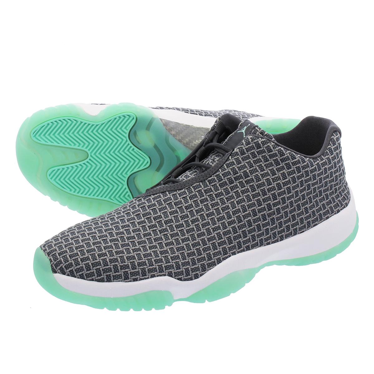 5ec22f80c197 LOWTEX PLUS  NIKE AIR JORDAN FUTURE LOW Nike Air Jordan future low WOLF GREY  EMERALD RISE WHITE 718