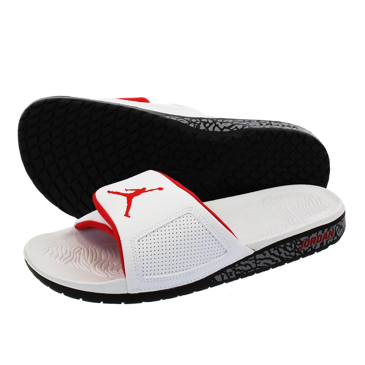 e1dca9b690c5 NIKE JORDAN HYDRO 3 RETRO Nike Jordan high mud 3 nostalgic WHITE UNIVERSITY  RED