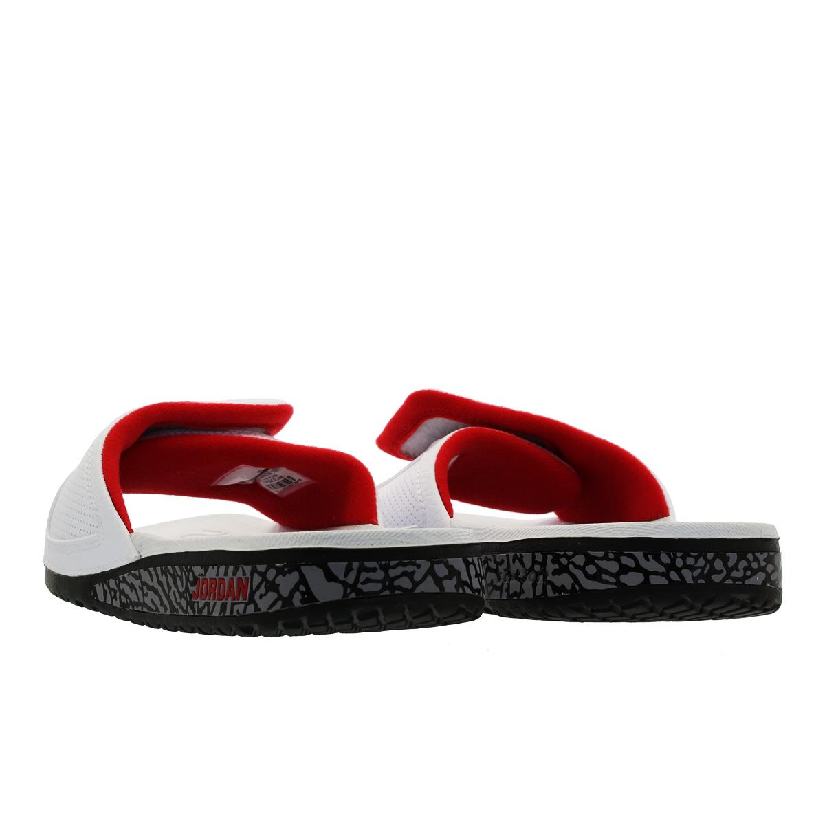 15d304d597256 NIKE JORDAN HYDRO 3 RETRO Nike Jordan high mud 3 nostalgic WHITE UNIVERSITY  RED