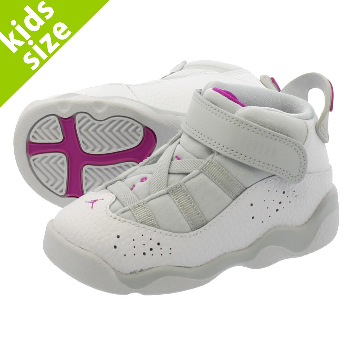 f9049a7d619 LOWTEX PLUS: NIKE JORDAN 6 RINGS GT Nike Air Jordan 6 RINGS Co.,Ltd. GT  PURE PLATINUM/FUCHSIA 942,780-011 | Rakuten Global Market