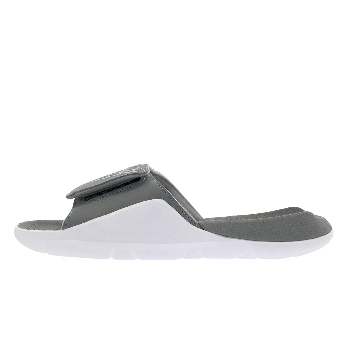 ea5cdef06baa NIKE JORDAN HYDRO 7 Nike Jordan high mud 7 SMOKE GREY PARTICLE GREY WHITE  aa2517-002