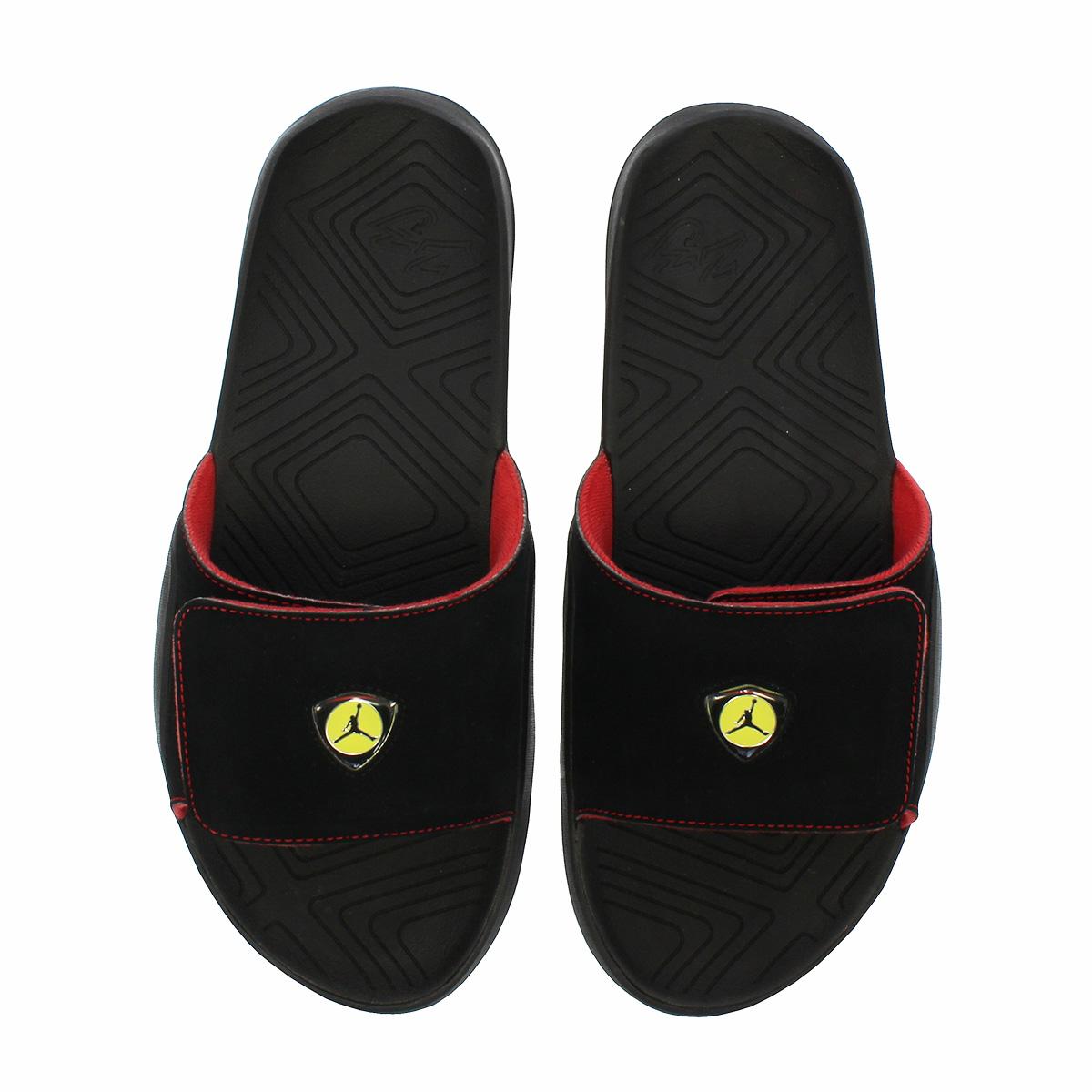 7f4454879abe LOWTEX PLUS  NIKE JORDAN HYDRO 7 Nike Jordan high mud 7 BLACK BLACK ...