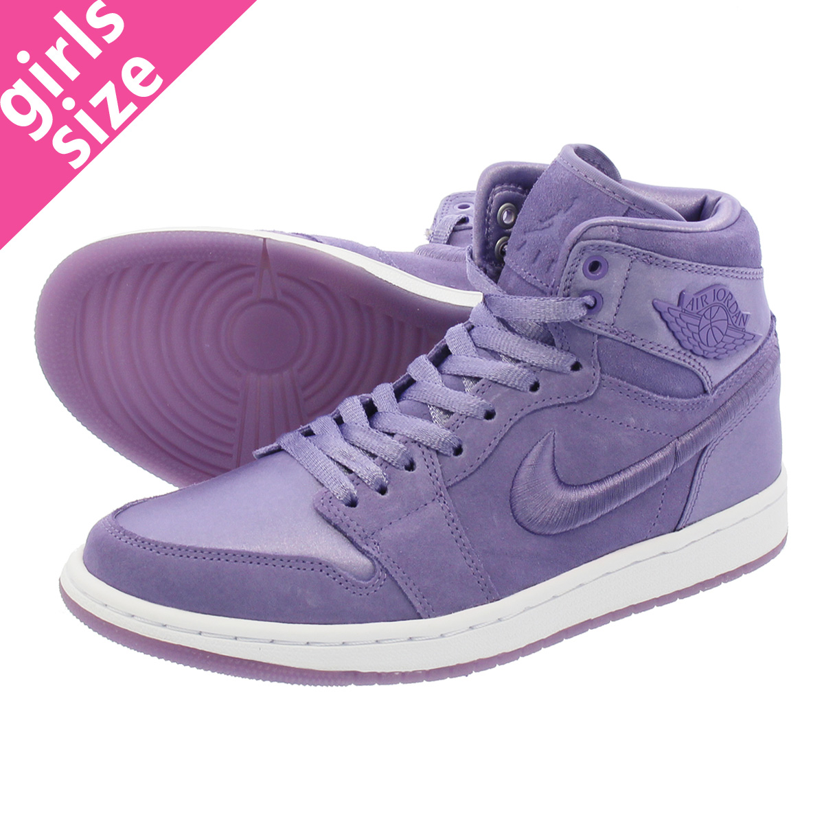NIKE WMNS AIR JORDAN 1 RETRO HIGH SOH 【SEASON OF HER】 ナイキ ウィメンズ エア ジョーダン 1 レトロ ハイ PURPLE/WHITE/GOLD ao1847-540