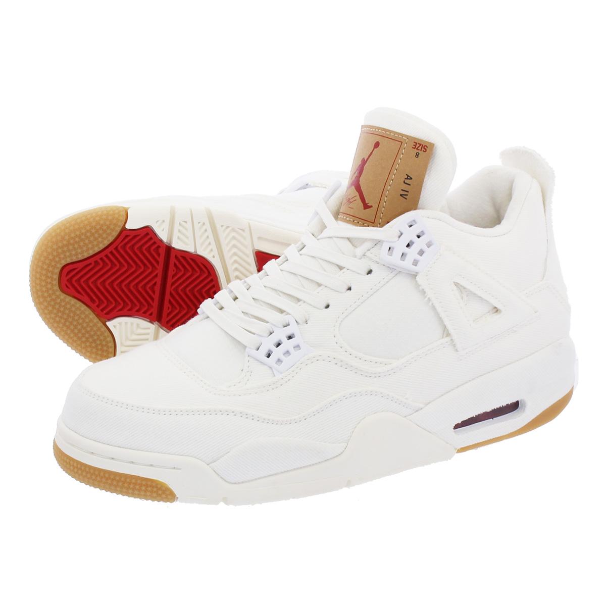 ae3a61f468e51f NIKE AIR JORDAN 4 RETRO NRG Nike air Jordan 4 nostalgic NRG Levis WHITE  WHITE ao2571-100