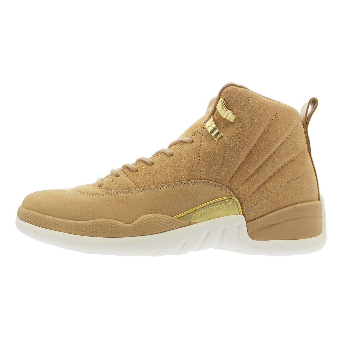 finest selection 7bbd8 4833b NIKE WMNS AIR JORDAN 12 RETRO Nike women Air Jordan 12 nostalgic VACHETTA  TAN MTLC GOLD SAIL ao6068-203-l
