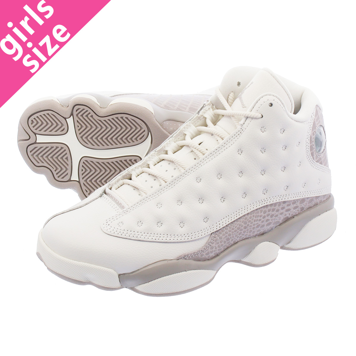 5a0f5d6f76b1d1 NIKE WMNS AIR JORDAN 13 RETRO Nike women Air Jordan 13 nostalgic PHANTOM MOON  PARTICLE aq1757-004