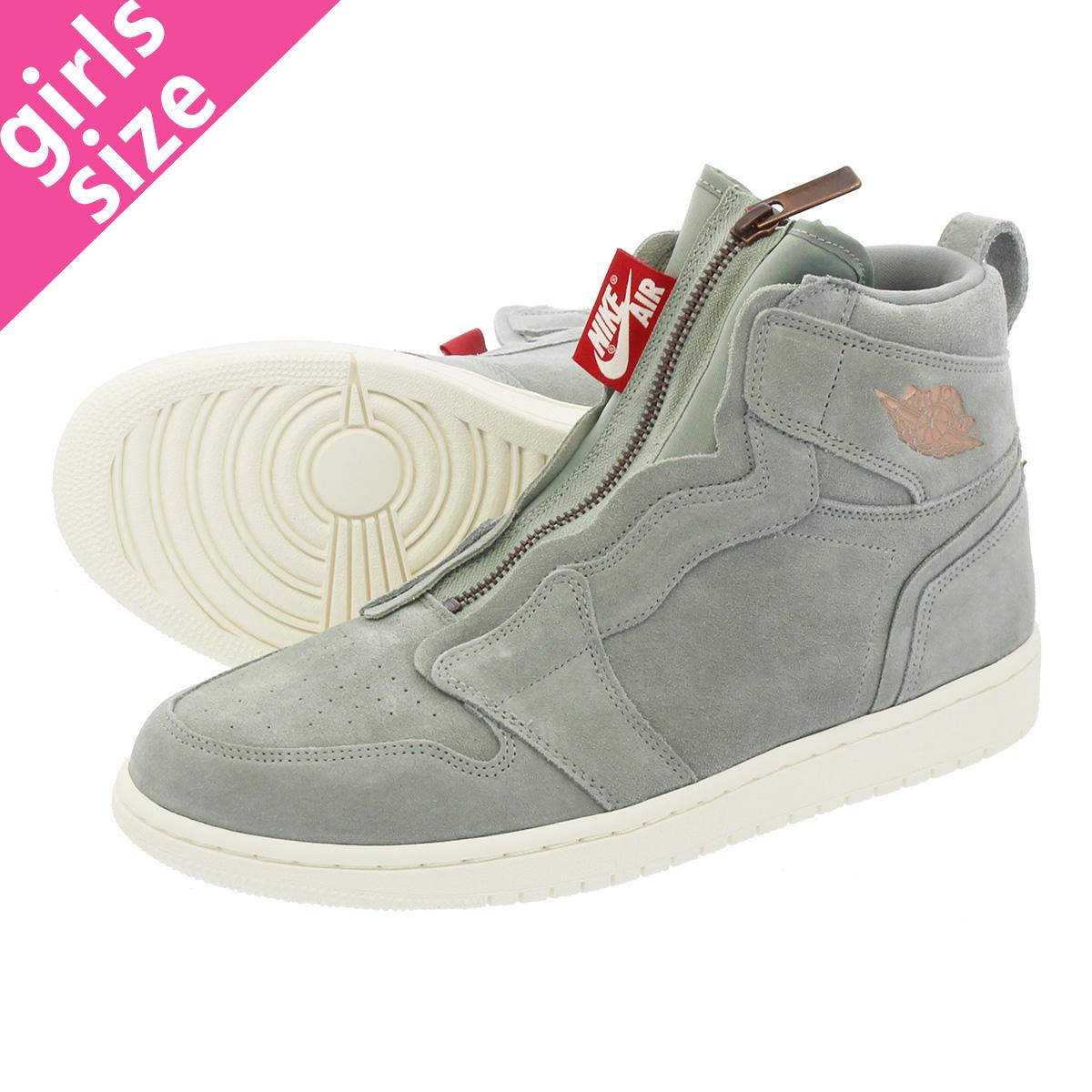 a6c498e13b25 LOWTEX PLUS  NIKE WMNS AIR JORDAN 1 HIGH ZIP Nike women Air Jordan 1 high  zip MICA GREEN METALLIC RED BRONZE aq3742-305-l