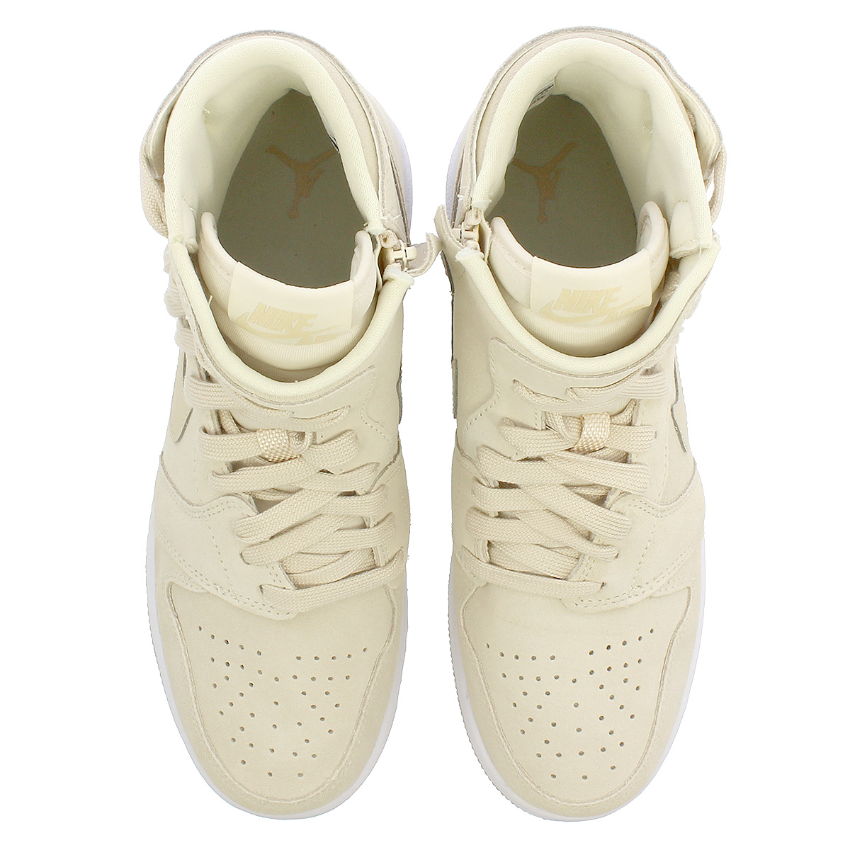 868ccb2a248 ... NIKE WMNS AIR JORDAN 1 REBEL XX Nike women Air Jordan 1 level XX LIGHT  CREAM ...