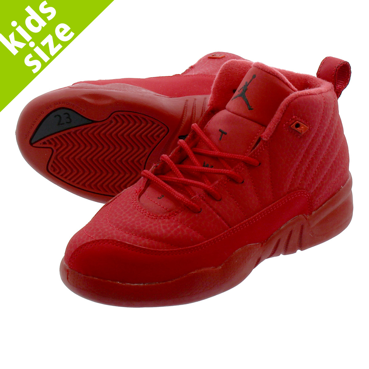 new arrival a8a3e 07a19 NIKE AIR JORDAN 12 RETRO PS Nike Air Jordan 12 nostalgic PS GYM  RED/BLACK/BLACK 151,186-601