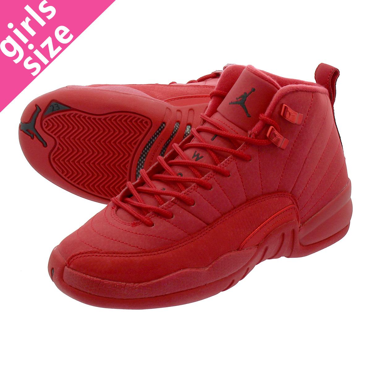 quality design d0f86 e004e NIKE AIR JORDAN 12 RETRO GS Nike Air Jordan 12 nostalgic GS GYM RED BLACK  153,265-601