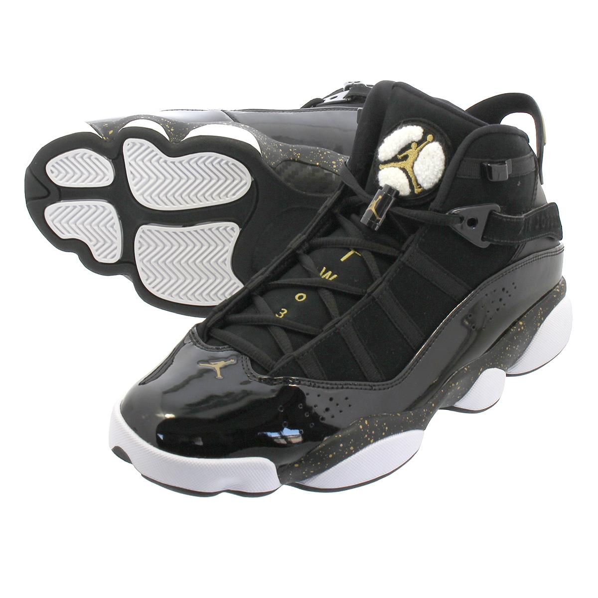 363abe9521f LOWTEX PLUS: NIKE JORDAN 6 RINGS Nike Jordan 6 RINGS Co.,Ltd.  BLACK/METALLIC GOLD/WHITE 322,992-007 | Rakuten Global Market