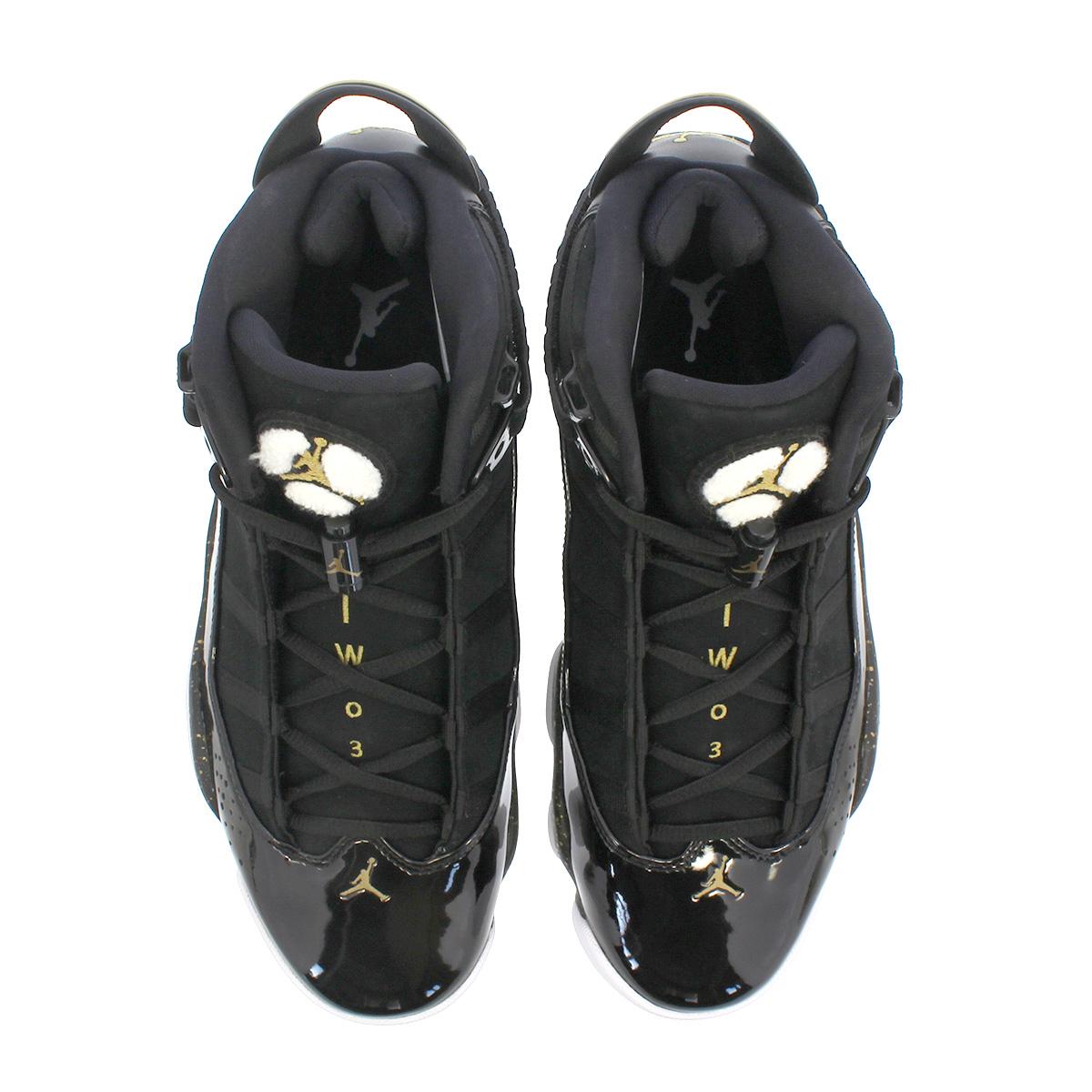 free shipping e02a8 15799 ... NIKE JORDAN 6 RINGS Nike Jordan 6 RINGS Co.,Ltd. BLACK METALLIC ...